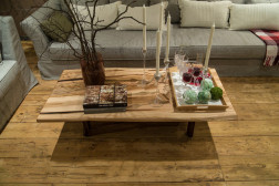 Murrey live edge coffee table