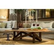 Murrey live edge coffee table