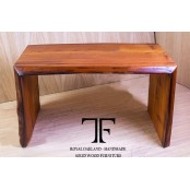 Nelson live edge oak coffee table