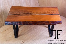 Salween live edge oak coffee table
