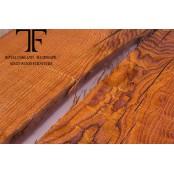 Salween live edge oak coffee table