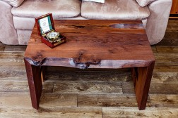 Tigris live edge oak coffee table