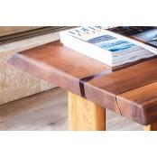 Tocantis live edge oak coffee table