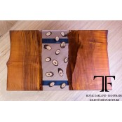 Zambezi live edge oak coffee table