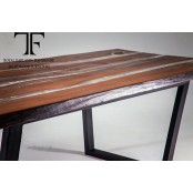 Amber dining table
