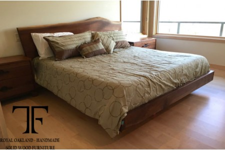 Ely live edge bed