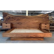 Preston live edge bed