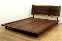 Salford live edge bed