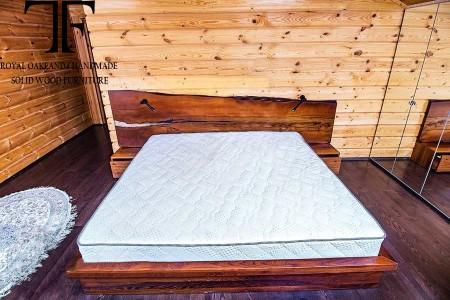 Truro live edge bed