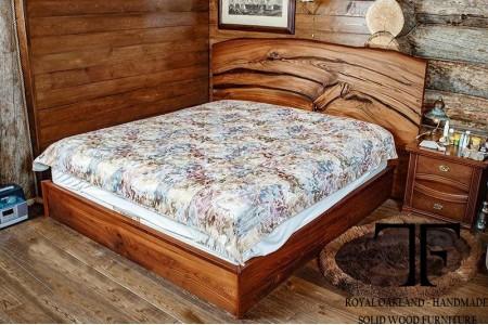 Wells live edge bed