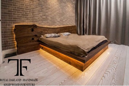 Westminster live edge bed