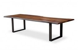 Bradford live edge dining table