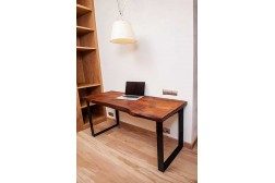 Kongo work live edge table
