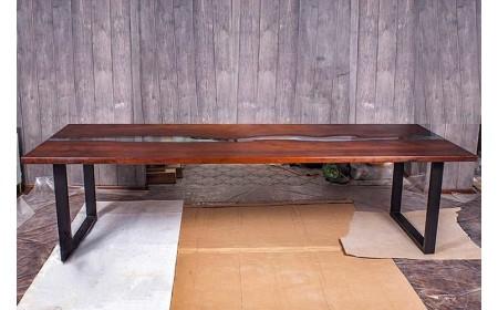 Luara live edge dining table
