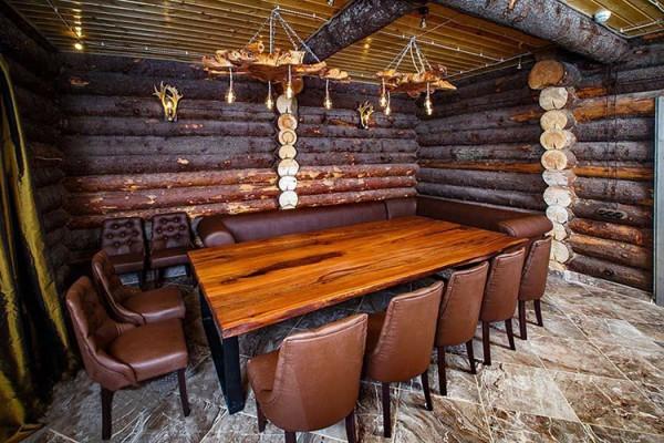 Telon Dining table live edge