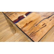 Aberdeen live edge dining table