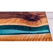 Derry river live edge dining table