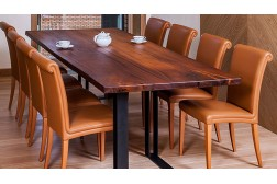 Lisburn dining live edge table