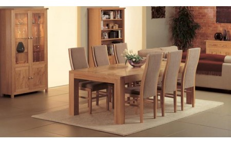 Stanishandmade solid dining table