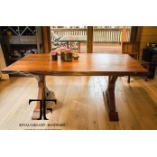 Kenai dining table live edge
