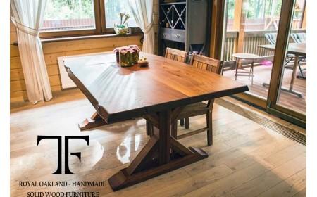Kenai dining table live edge